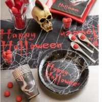 ASSIETTES HAPPY HALLOWEEN X10