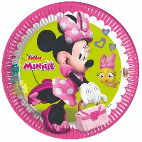 ASSIETTES MINNIE X8