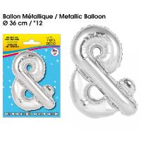 BALLON METALLIQUE &
