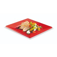 12 ASSIETTES ROUGES GM