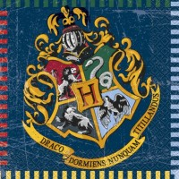 SERVIETTE HARRY POTTER X16